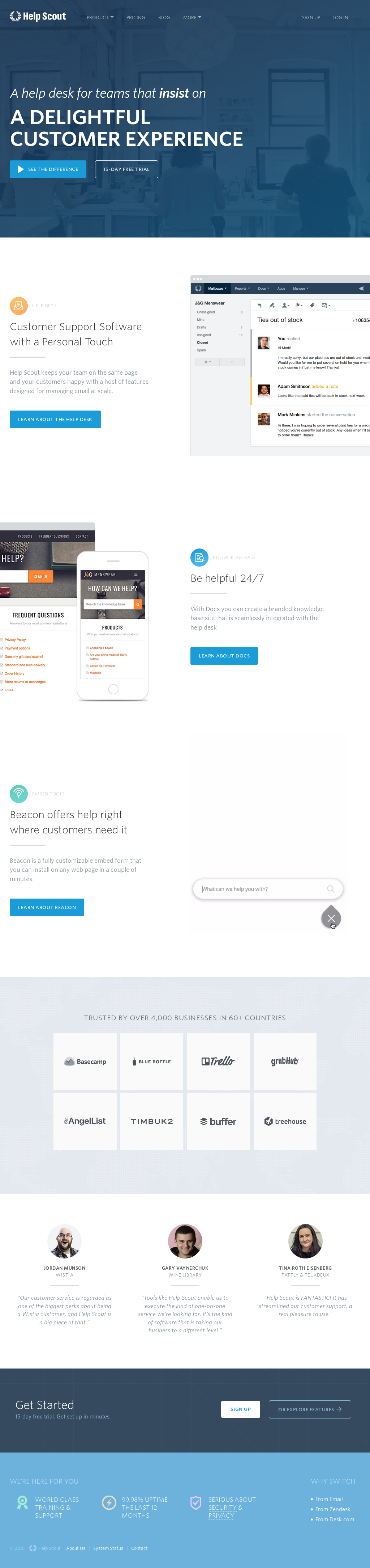 Helpscout Beacon 2.0 owler reports - help scout blog beacon 2.0 preview: the user