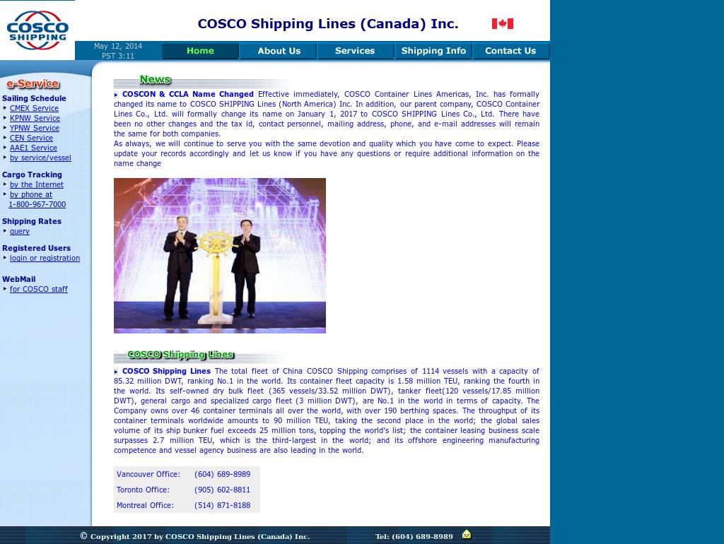 Cosco Canada Competitors, Revenue and Employees - Owler Company Profile