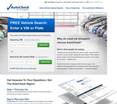 AutoCheck Competitors, Revenue and Employees - Owler Company Profile