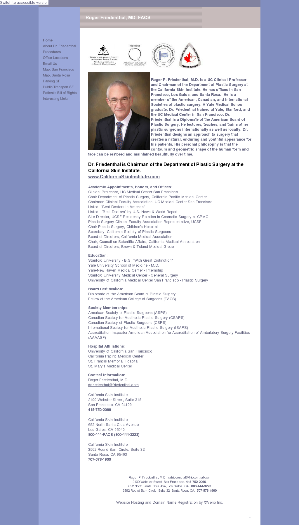 Friedenthal Roger P Md Competitors, Revenue and Employees - Owler