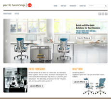 Pacific Office Furnishings Website History