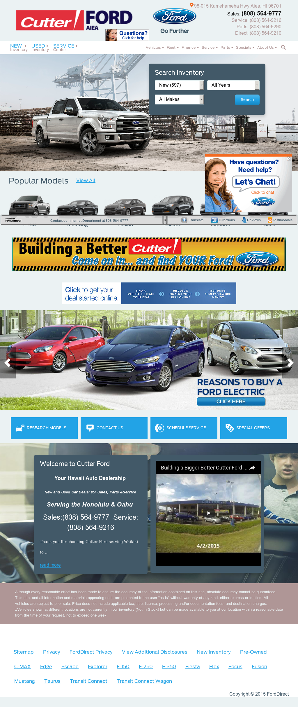 Cutter Ford Aiea >> Cutter Ford Competitors Revenue And Employees Owler