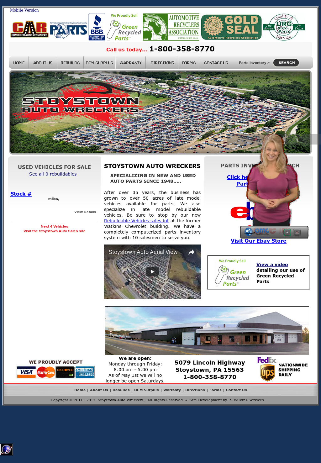 Stoystown Auto Sales >> Stoystown Auto Wreckers Competitors Revenue And Employees
