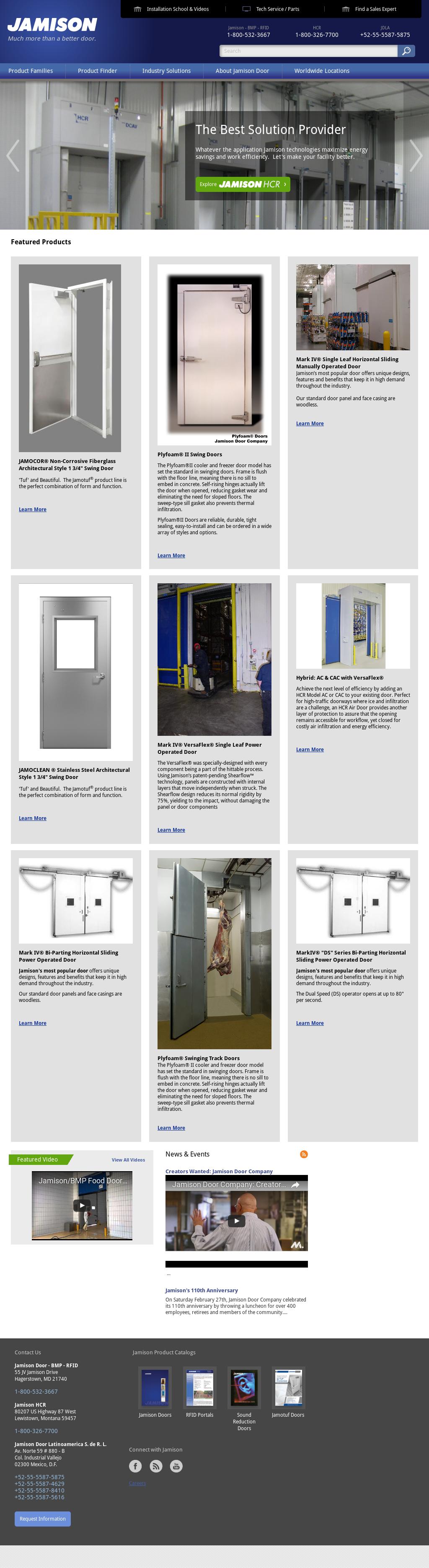 Jamison Door website history & Jamison Door Competitors Revenue and Employees - Owler Company Profile