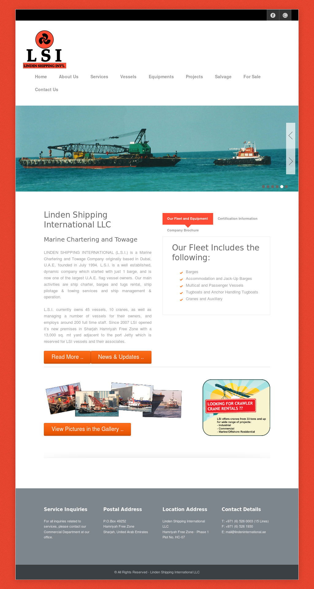 Linden Shipping International Competitors, Revenue and