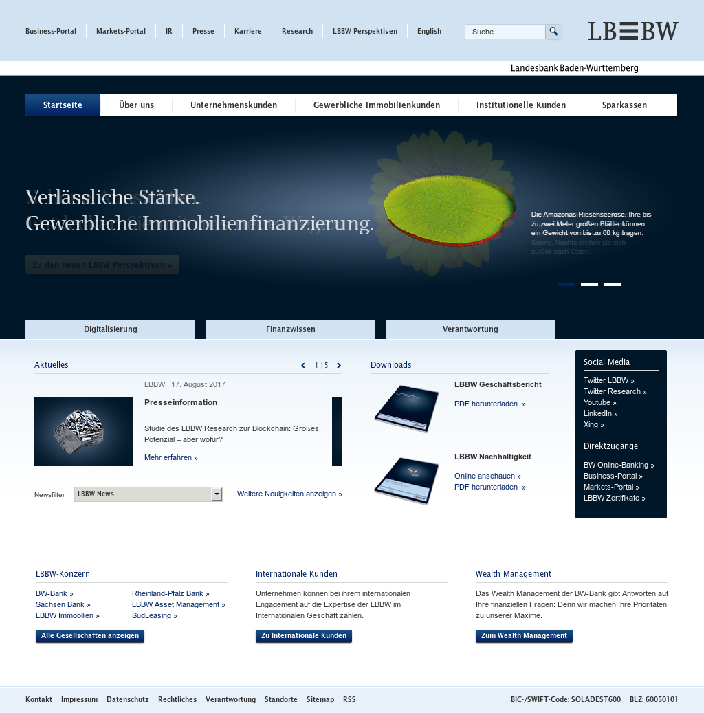 Lbbw Competitors Revenue And Employees Owler Company Profile