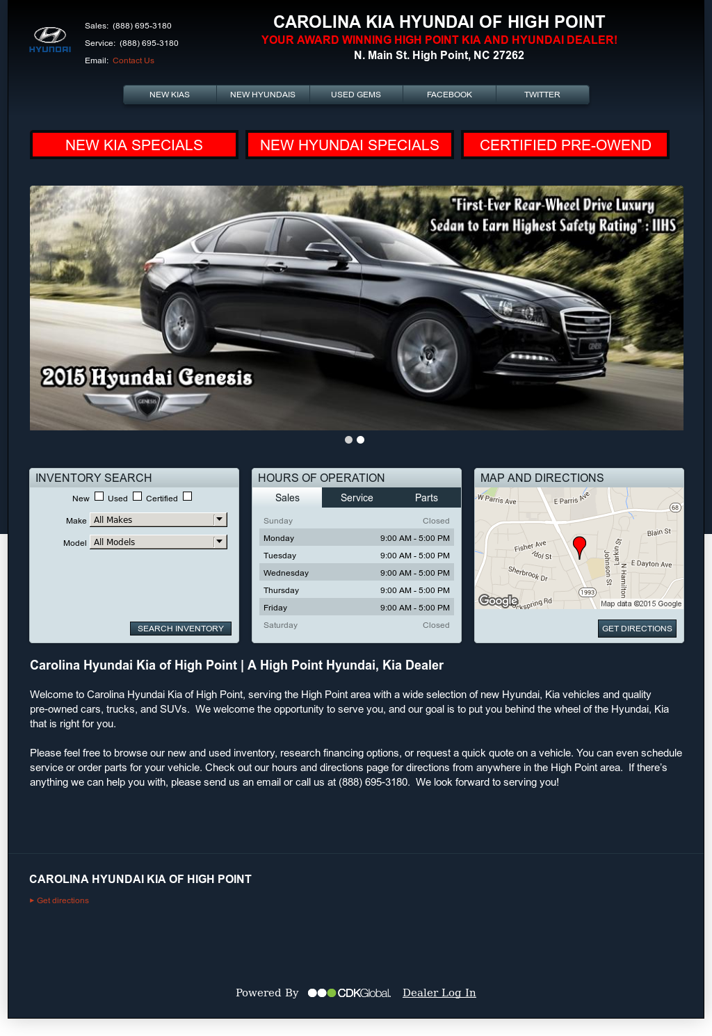 Carolina Hyundai Of High Point Compeors Revenue And Employees Owler Company Profile