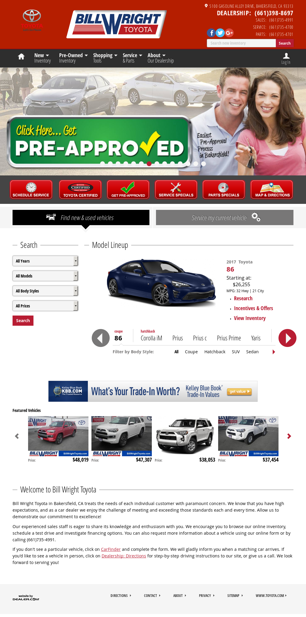 Bill Wright Toyota Competitors, Revenue And Employees   Owler Company  Profile