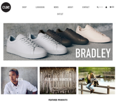 Clae Footwear Website History