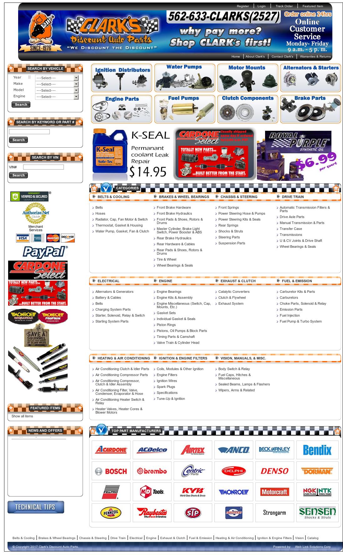 Clark'S Auto Parts >> Clark S Discount Auto Parts Competitors Revenue And
