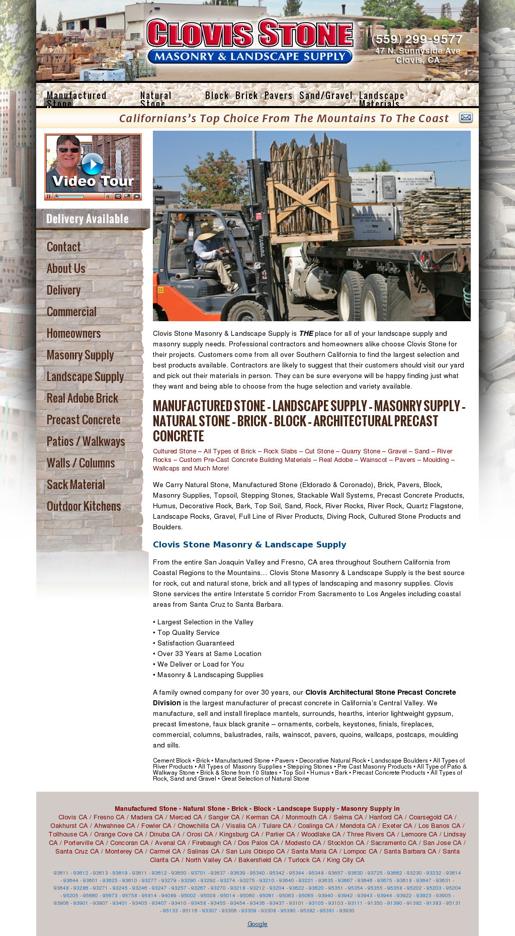 Clovis Stone Landscape Supply Compeors Revenue And Employees Owler Company Profile