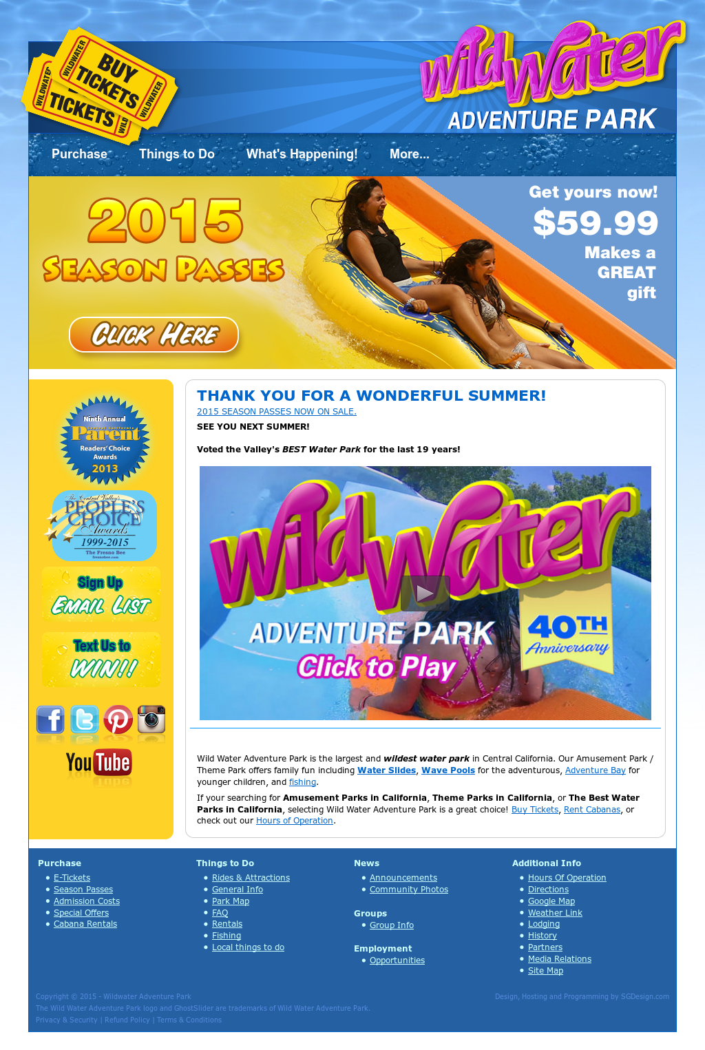 Wild Water Adventure Park Competitors Revenue And Employees Owler