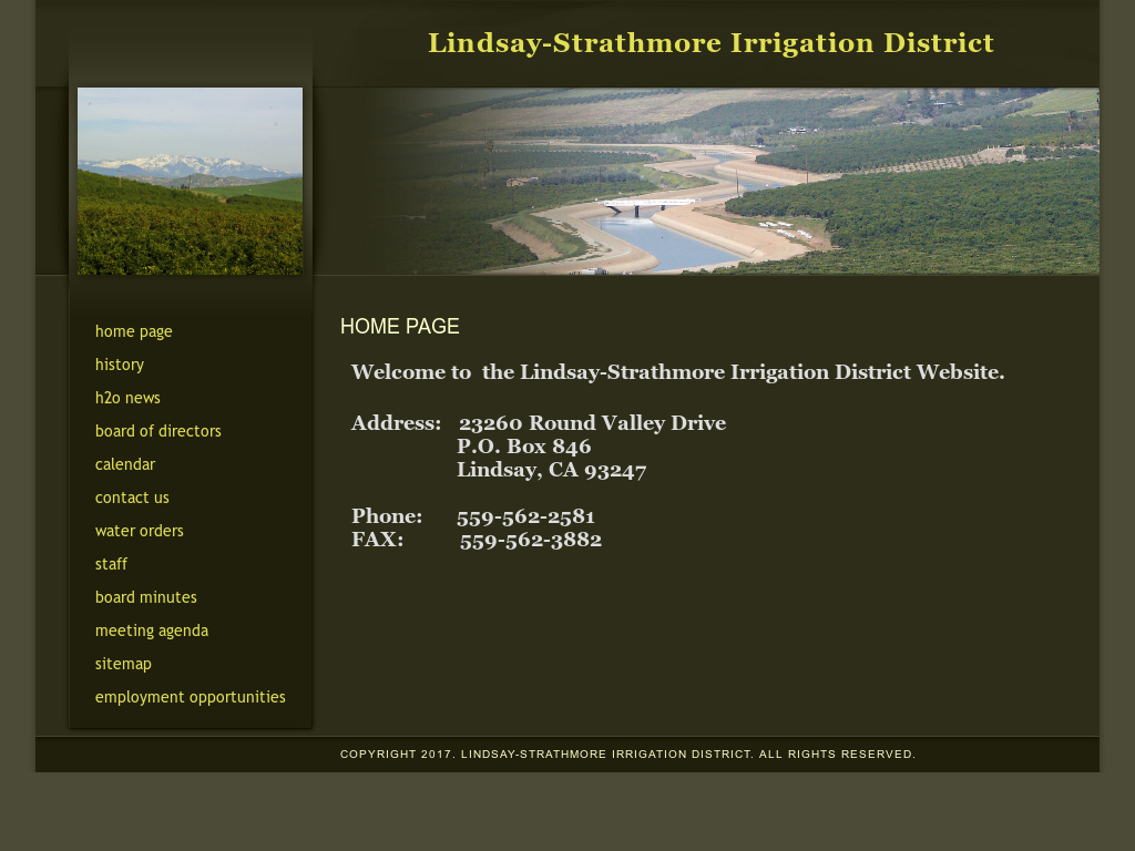 Lindsay Strathmore Irrigation District Competitors, Revenue and