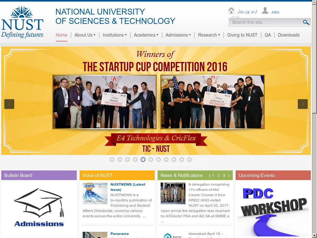 NUST Competitors, Revenue and Employees - Owler Company Profile