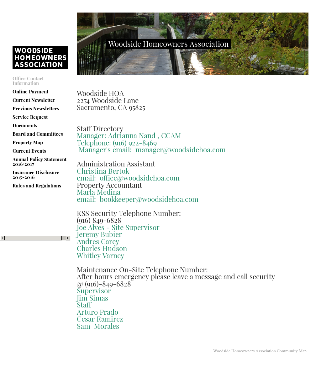 Woodside Homeowners Association Competitors, Revenue and