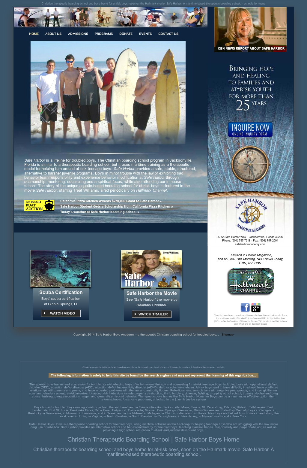 Safe Harbor Boys Home Competitors, Revenue and Employees - Owler ...