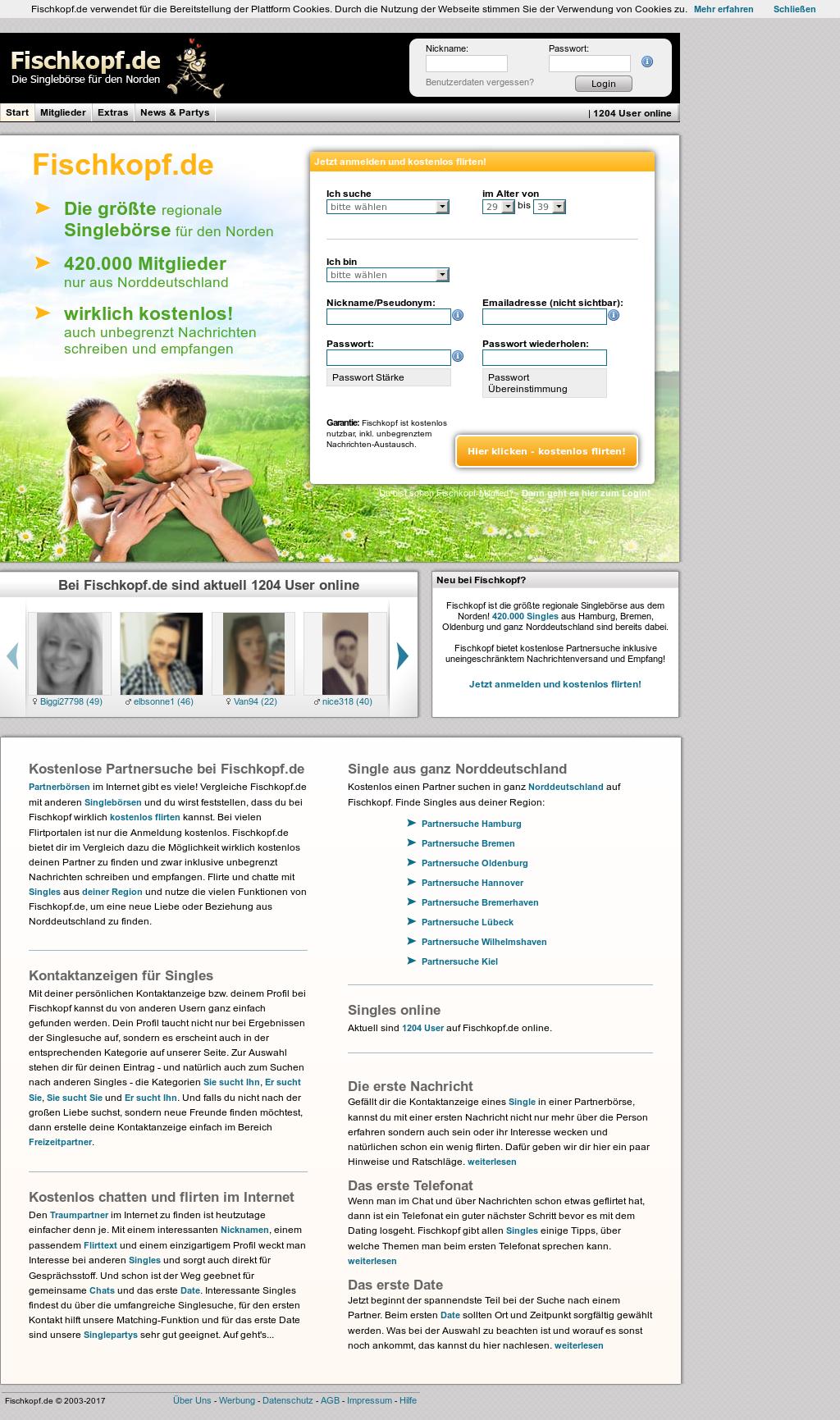 Stor en liners för online dating