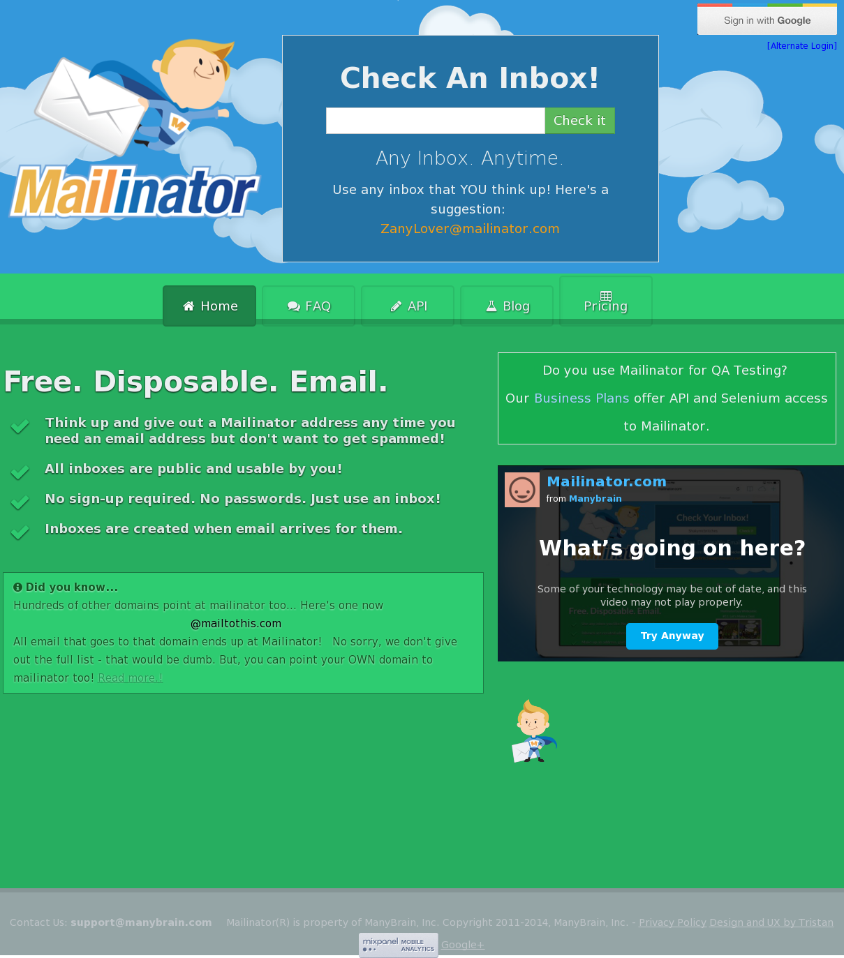 Mailinator Competitors, Revenue and Employees - Owler