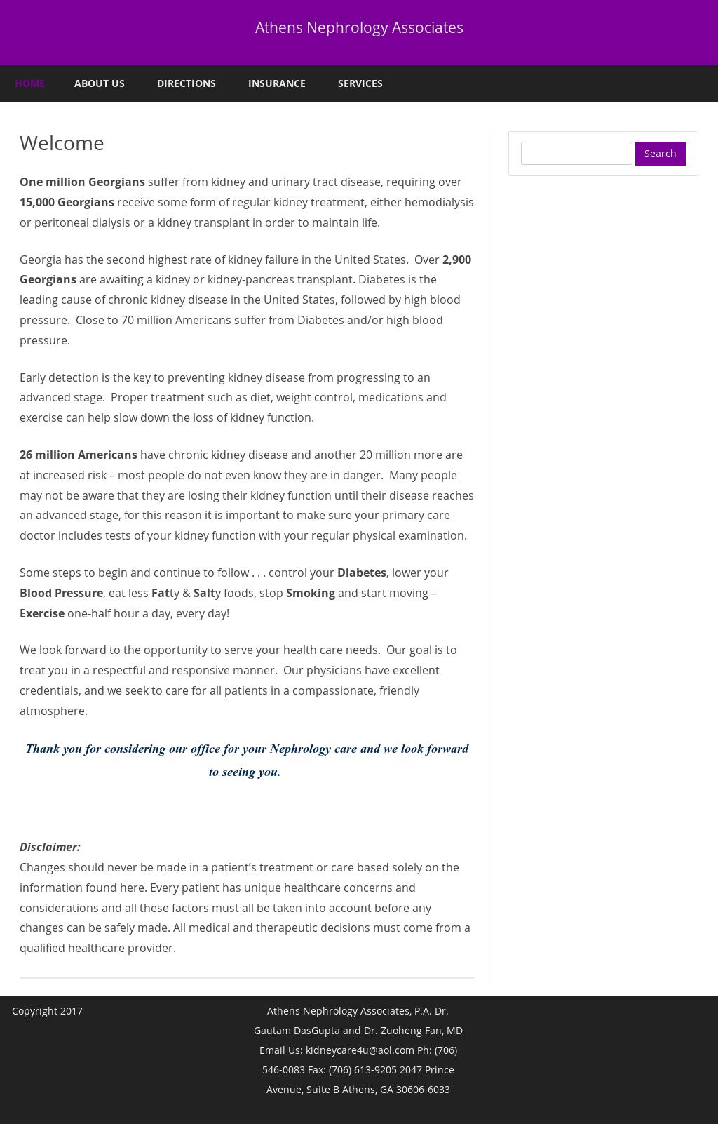 Athens Nephrology Associates, Pc Competitors, Revenue and