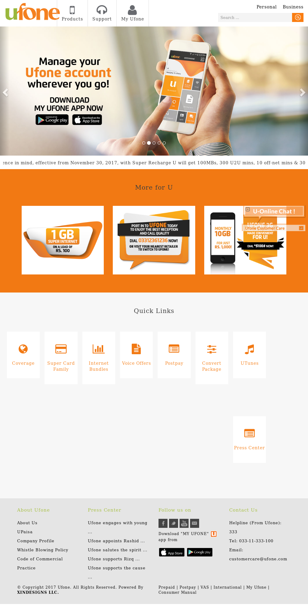Owler Reports - Ufone: Ufone Launches Prepaid Data Roaming Offer for