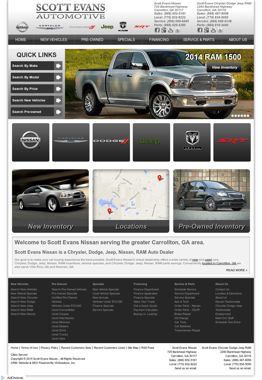 Scott Evans Nissan Competitors Revenue And Employees Owler