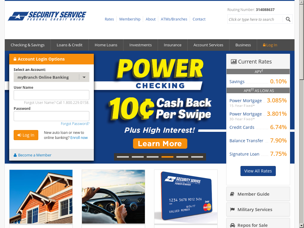 Ssfcu Login In >> Ssfcu Competitors Revenue And Employees Owler Company Profile