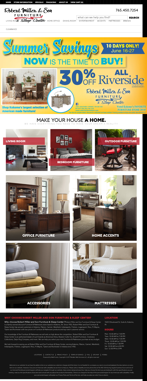 Robert L. Miller U0026 Son Furniture Website History