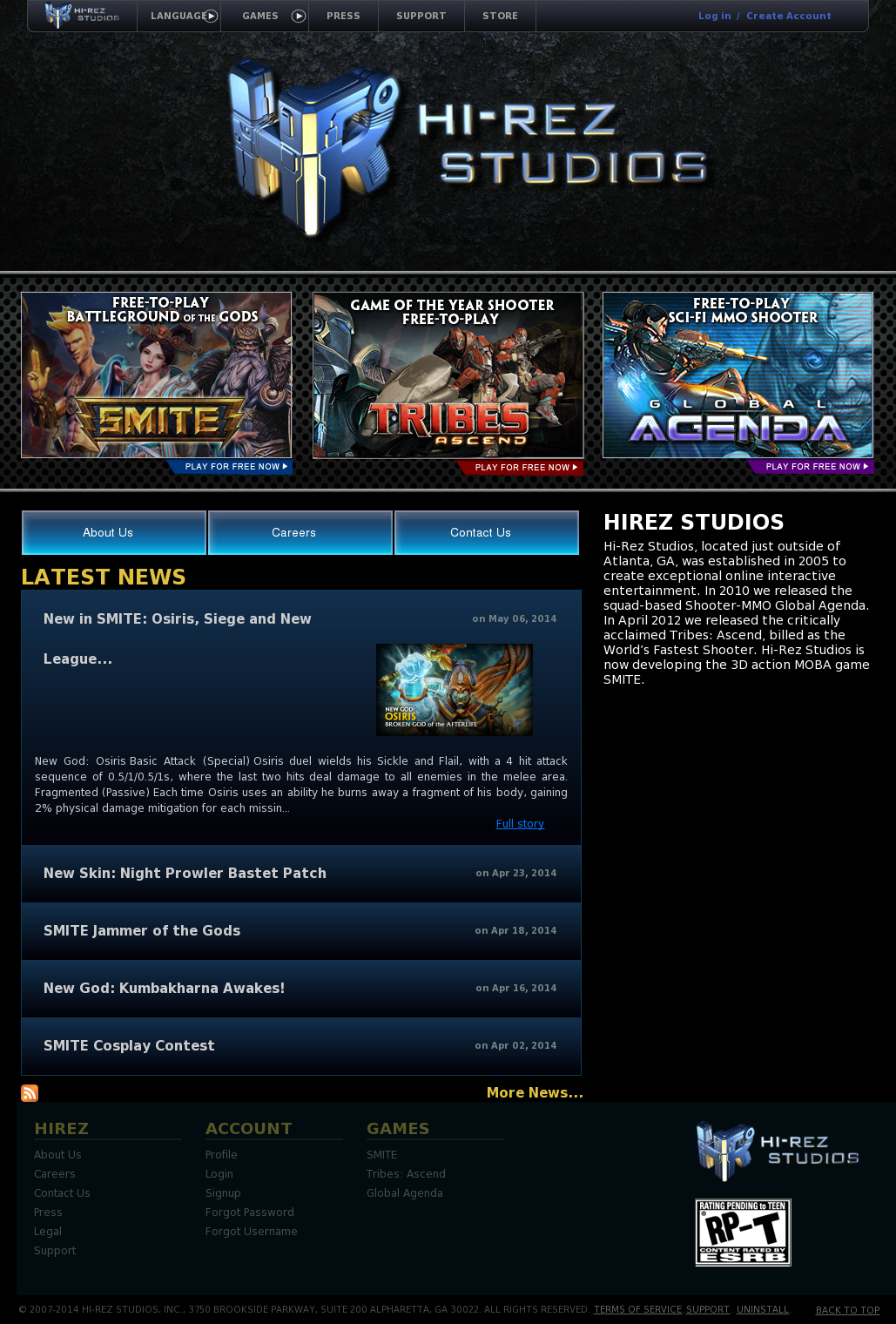 Hi-Rez Studios Competitors, Revenue and Employees - Owler Company
