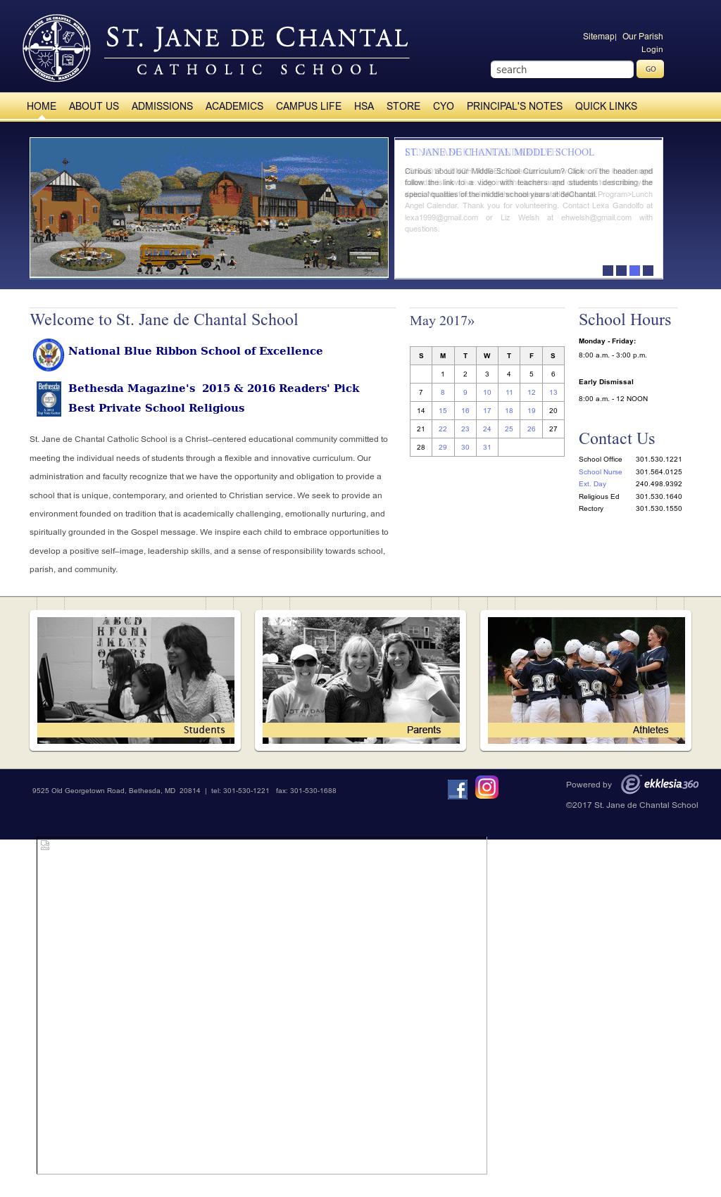 St Jane De Chantal School Competitors, Revenue and Employees