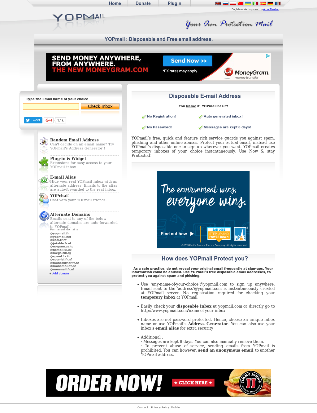 YOPmail's Competitors, Revenue and Employees - Owler Company Profile
