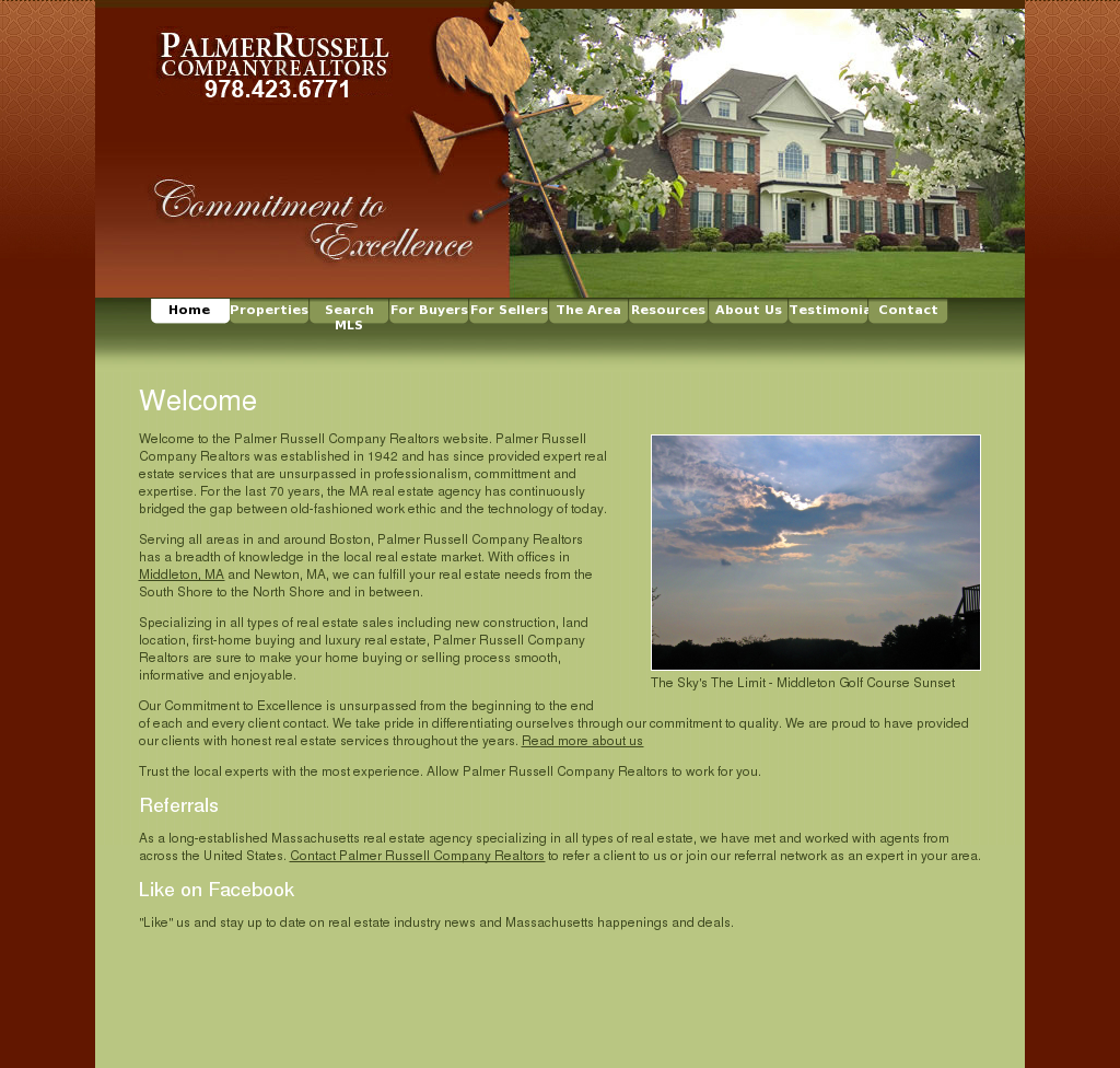 Palmer Russell Company Realtors Competitors, Revenue and