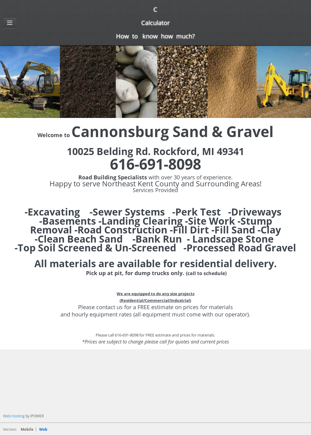 Cannonsburg Sand & Gravel Competitors, Revenue and Employees