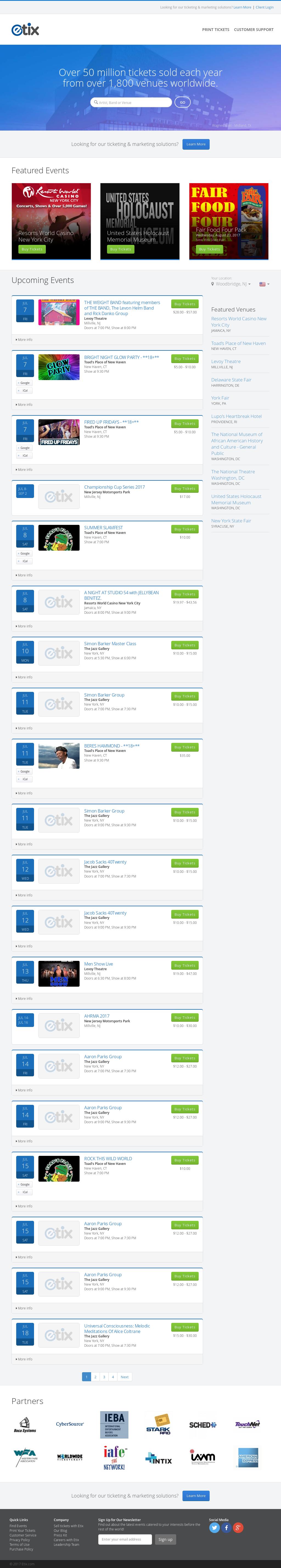 Etix Competitors, Revenue and Employees - Owler Company Profile