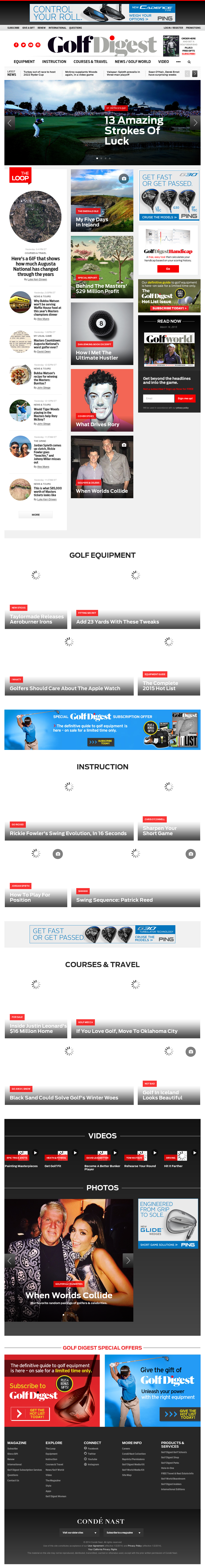 392be3644e02 Golf Digest Competitors, Revenue and Employees - Owler Company Profile