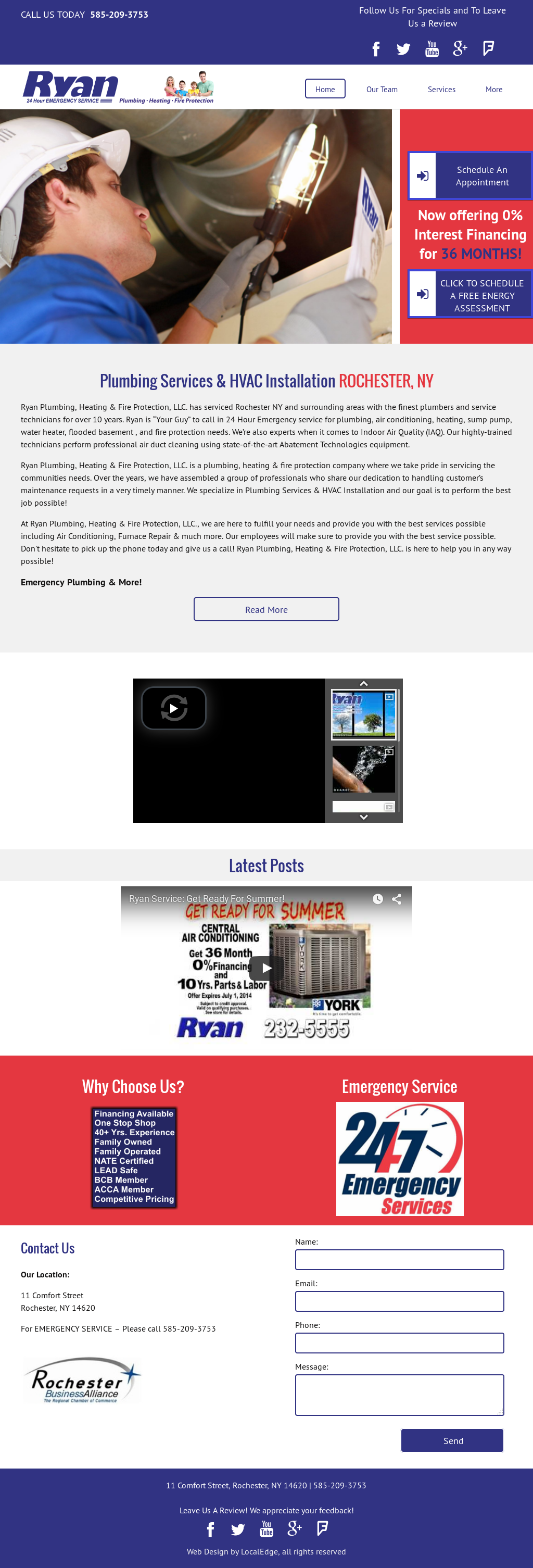 Ryan Plumbing Heating Compeors Revenue And Employees Owler Company Profile