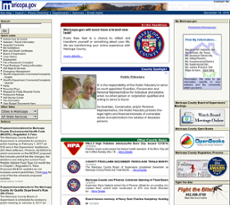 Maricopa County website history