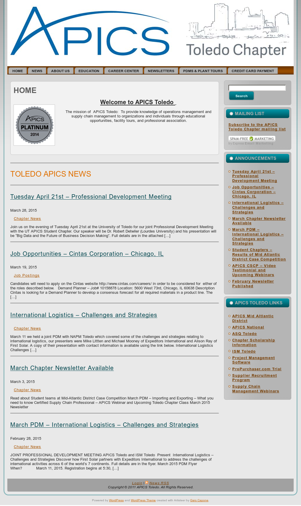 Apics Toledo Competitors, Revenue and Employees - Owler