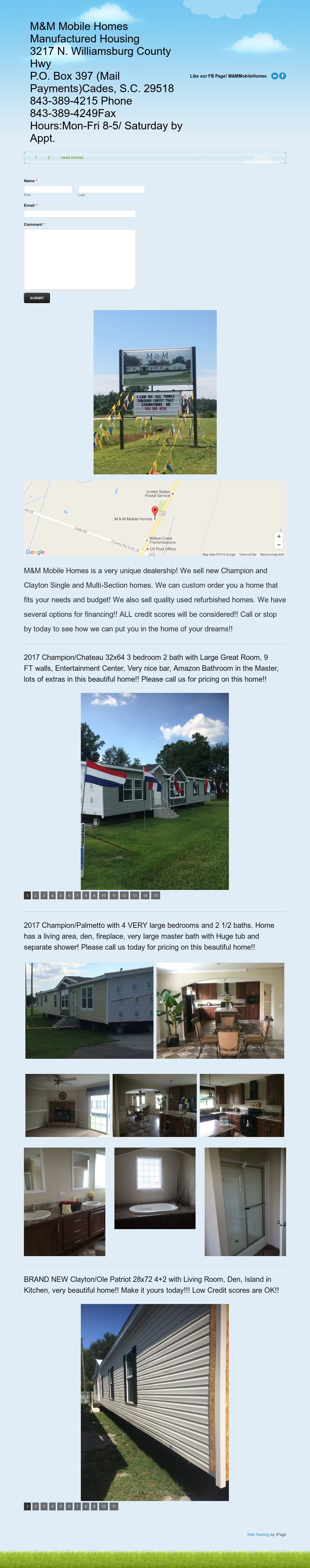 M & M Mobile Homes Competitors, Revenue and Employees