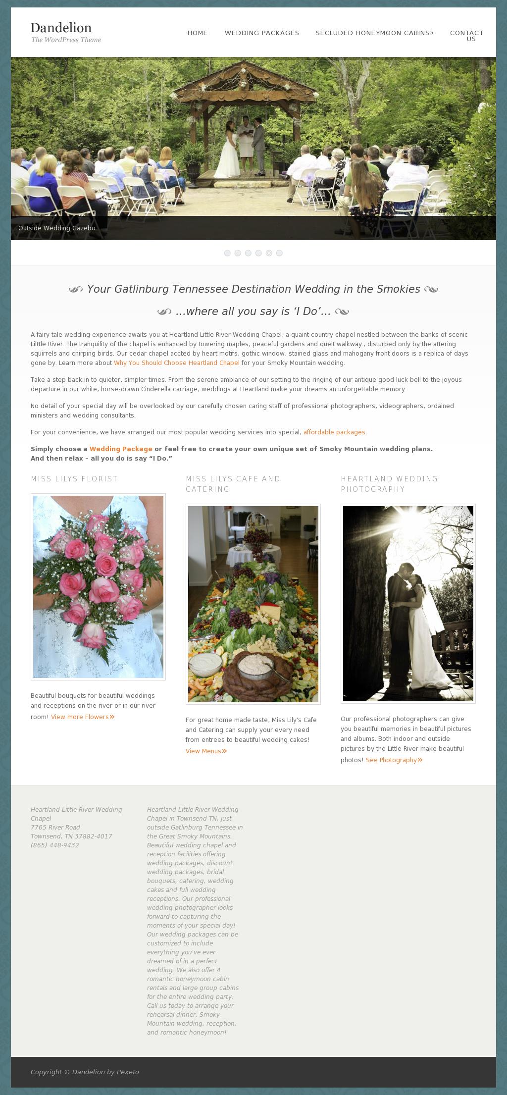 Heartland Wedding Chapel Compeors Revenue And Employees Owler Company Profile