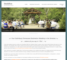 Heartland Wedding Chapel Website History