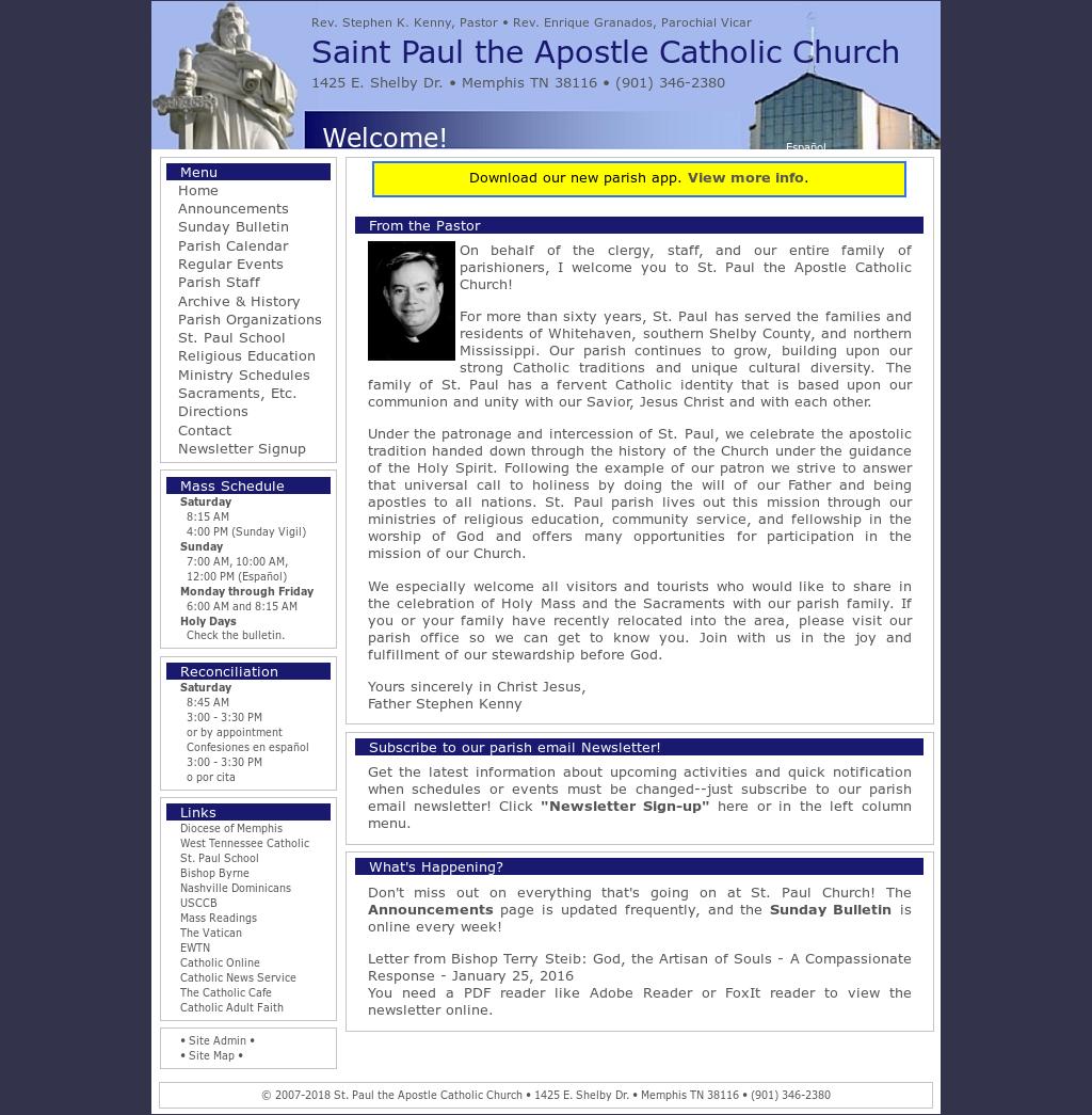 Saint Paul The Apostle Catholic Church Competitors, Revenue and