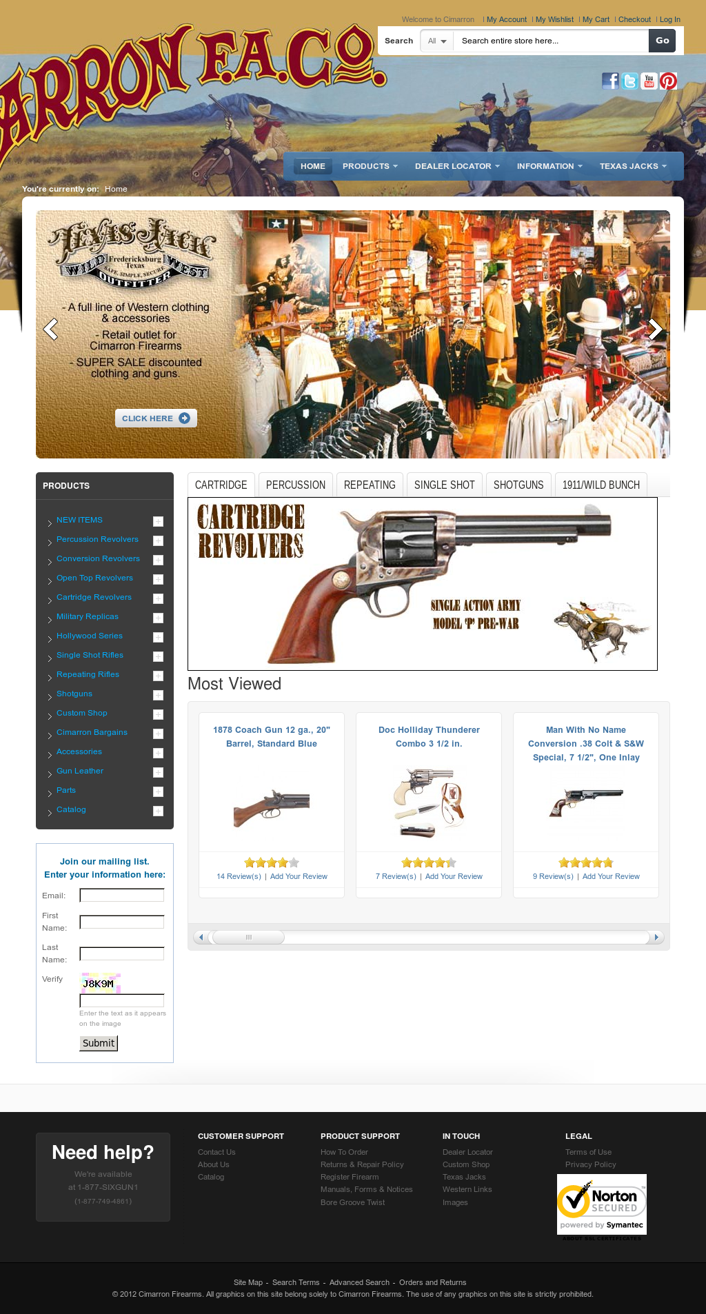 Cimarron Firearms Competitors, Revenue and Employees - Owler Company