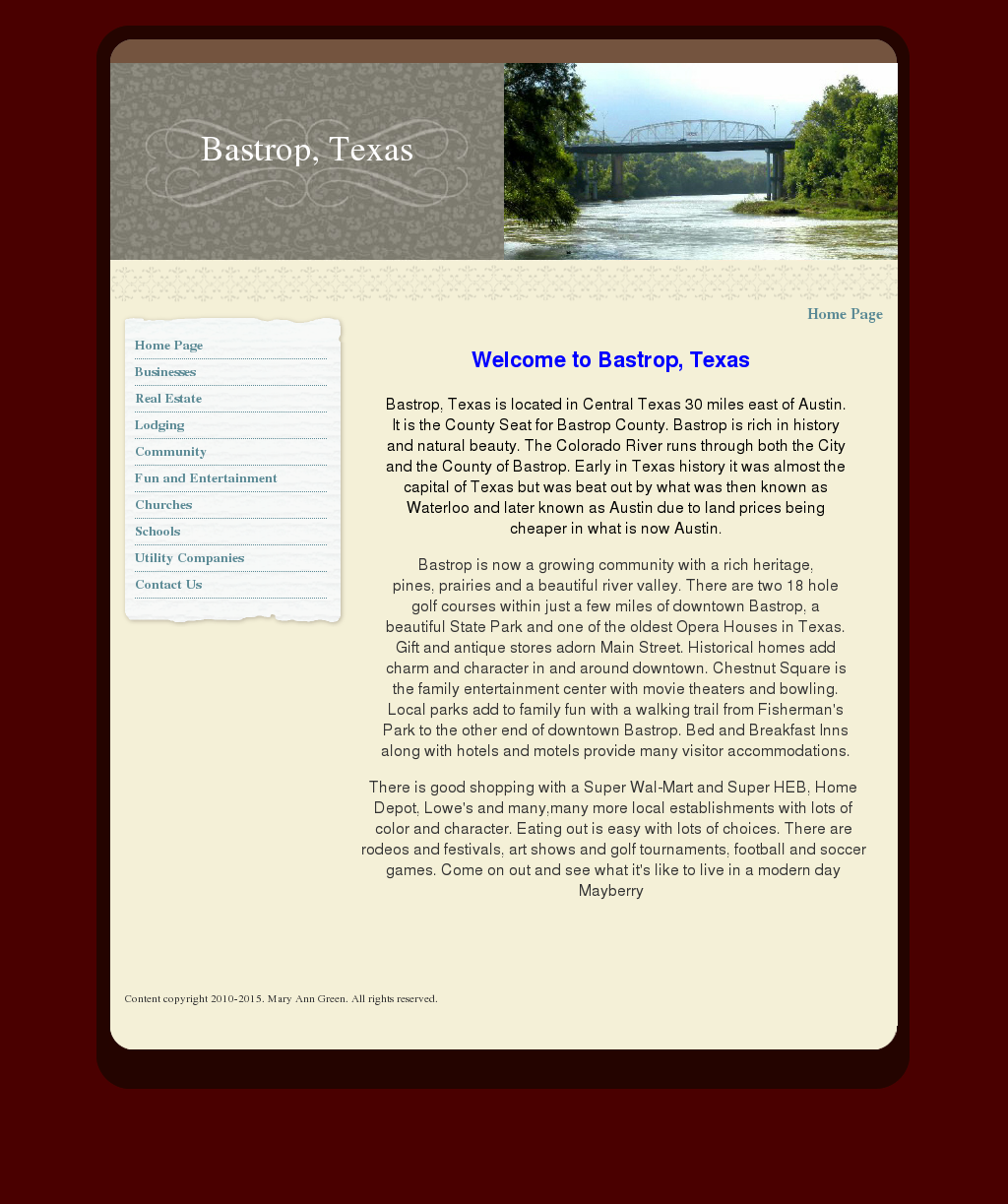 City Of Bastrop Tx S Competitors Revenue Number Of Employees Funding Acquisitions News Owler Company Profile