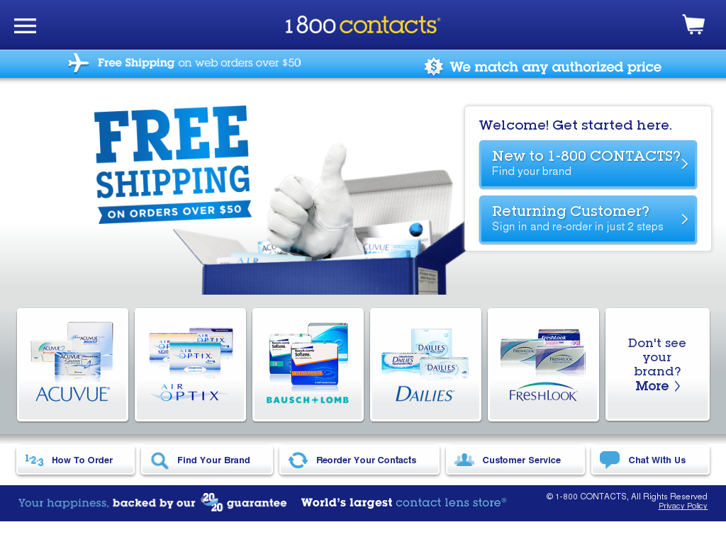 24aa4a9fa9b5 1-800 Contacts Competitors