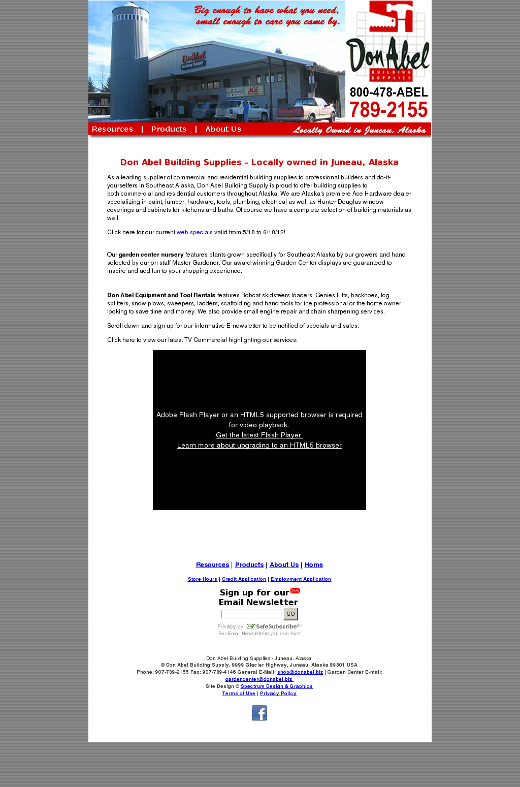 Don Abel Building Supply Competitors, Revenue and Employees