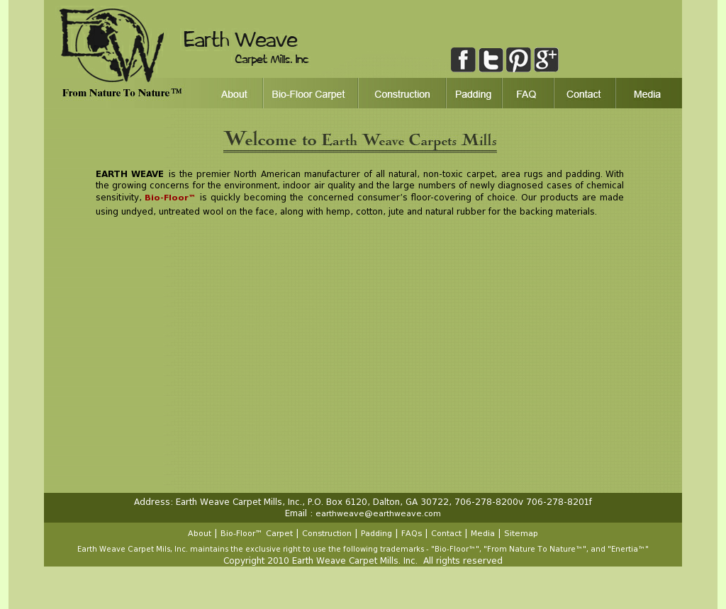 Earth Weave Carpet Mills Compeors Revenue And Employees Owler Company Profile