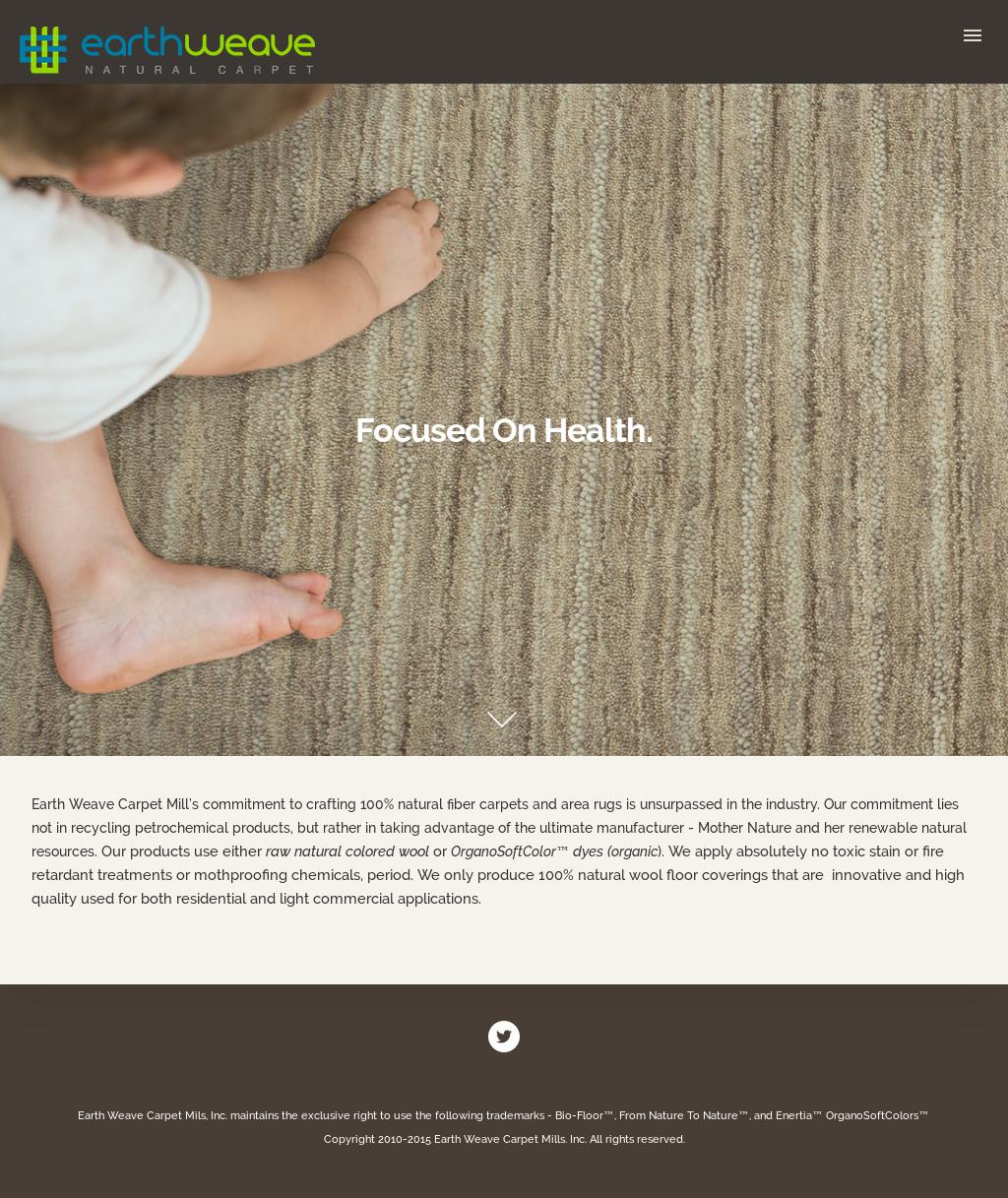 Earth Weave Carpet Mills S Website Screenshot On Jun 2017