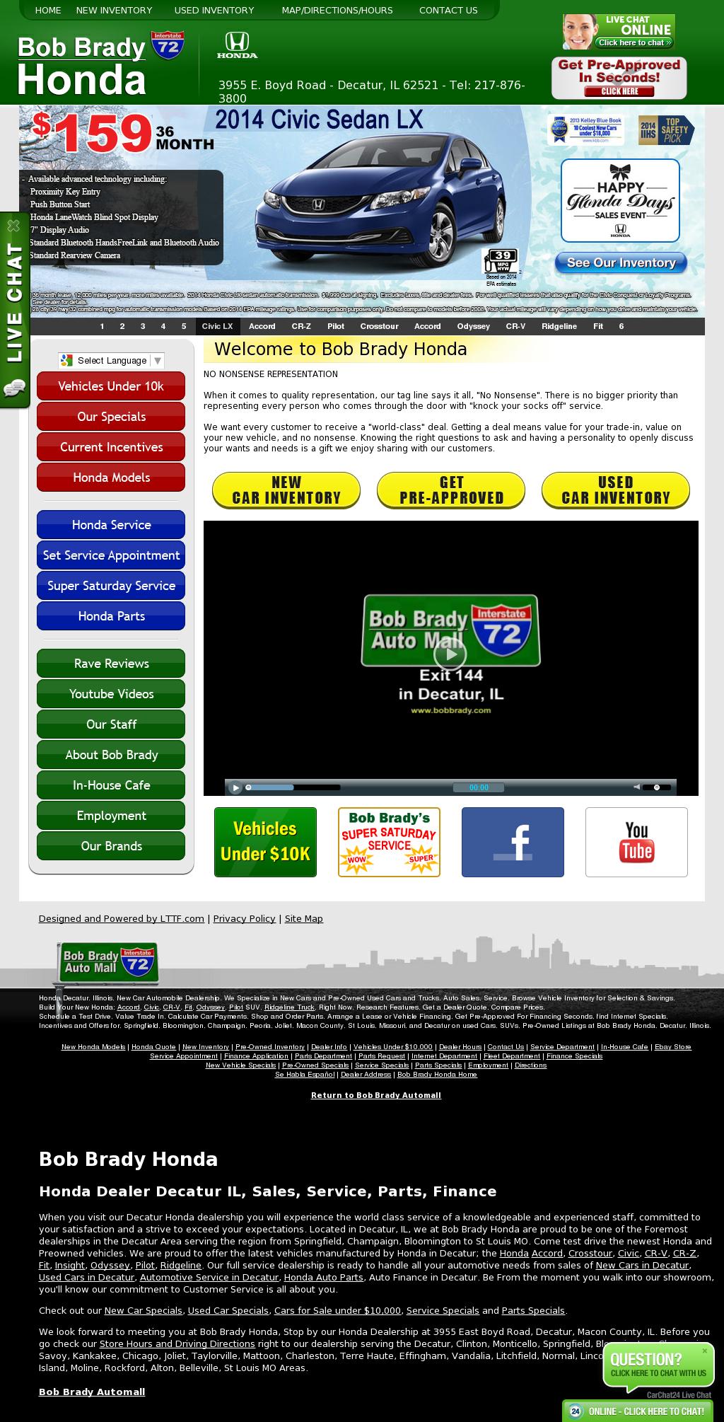 Bob Brady Honda Competitors Revenue And Employees Owler Company