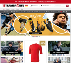 11teamsports website history