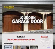 Loudoun Garage Door Website History